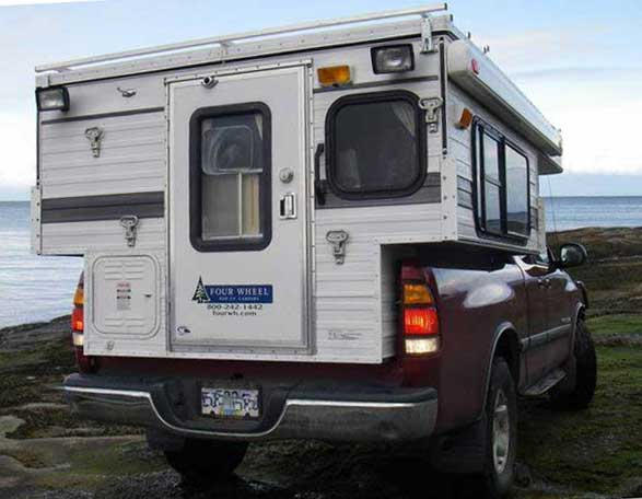 Four wheel pop up camper for sale used