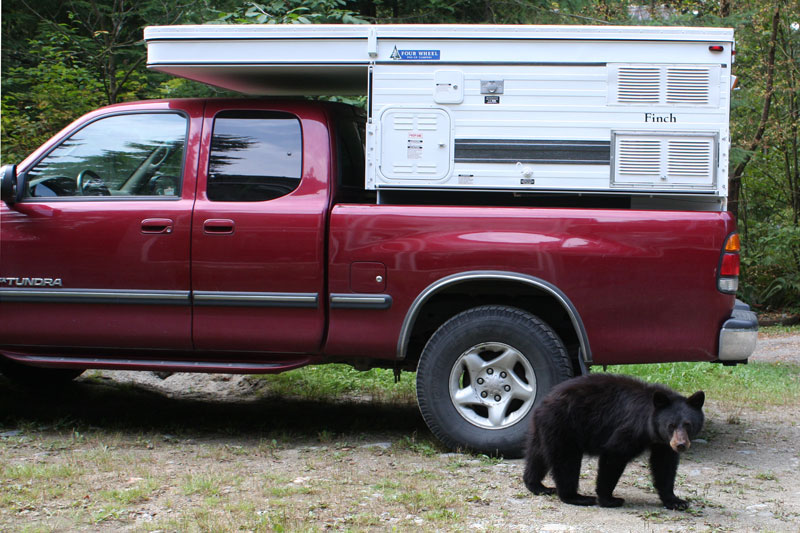 Dodge Ram 3500 Camper >> Four Wheel Campers Canada Models